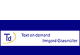 Logo: Text on demand