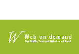 Logo: Web on demand